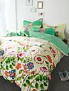 Seturi Duvet Cover Floral Bumbac Imprimeu reactiv 4 PieseBedding Sets / 600