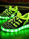 Băieți Pantofi Țesătură Primăvară Toamnă Pantofi Usori Confortabili Adidași LED pentru De Atletism Negru Verde Bleumarin Roșu