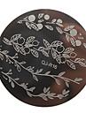 nagel konst Stamping plåt Stamper Scraper 5.6*5.6