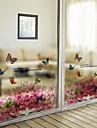 Art Deco Hedendaagse Raamfolie, PVC/Vinyl Materiaal raamdecoratie Eetkamer Slaapkamer Kantoor Kinderkamer Woonkamer Bad Kamer / Cafe