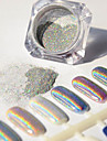 1 pcs Glitter & Poudre / Puder Glitters / Klassisk Nail Art Design Dagligen