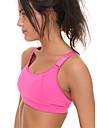Yoga Sportbehåar Underkläder Överdelar Andningsfunktion Sömlös Len 3D Tablett Hög Elasisitet Fotbollströjor Yoga Pilates Motion & Fitness