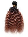 Indiskt hår Stora vågor Hårförlängning av äkta hår 1 st. Nyans