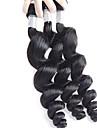 Tissages de cheveux humains Cheveux Bresiliens Ondulation Legere 18 Mois 3 Pieces tissages de cheveux 0.15 kg Meches Rapides