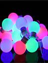 Fâșii de Iluminat 40 LED-uri Alb Cald Intensitate Luminoasă Reglabilă Schimbare - Culoare <5V