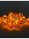 Halloween dovleac șir fantomă lămpi de cap a condus lumina bar 16 lampă de titularul