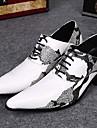Homme Chaussures Cuir Confort Oxfords pour Soiree & Evenement Blanc