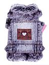 Chat Chien Vestes en Jean Vetements pour Chien cow-boy Mode Jeans Gris Costume Pour les animaux domestiques