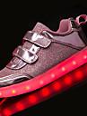 Fete Pantofi Tul Primavara vara Confortabili / Pantofi Usori Pantofi Flați Plimbare pentru Argintiu / Roz / Auriu
