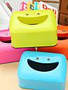 kreativa leende ansikte vävnad rutan vävnad rutan tecknad matbord leende (slumpmässiga färger)