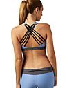 Yoga Sportbehåar Underkläder Överdelar Snabb tork Andningsfunktion Sömlös Len Bekväm Hög Elasisitet Fotbollströjor Yoga Pilates Motion &