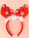 2buc coarne de cerb cu urechi clopot cap Banda catarama de vacanță rochie de machiaj de Crăciun popi decoratiuni