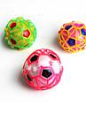LED-belysning Kulor Leksaksfotboll Lysande leksaker Leksaker Klot Fotboll Belysning Dans Stor storlek Elektrisk Plast Bitar