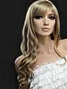 人工毛ウィッグ ウェーブ ブロンド ブロンド 合成 女性用 ブロンド かつら ロング キャップレス