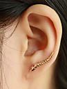 Pentru femei Cercei Stud Cătușe pentru urechi La modă Elegant costum de bijuterii Leaf Shape Aripi / Pene Bijuterii Pentru Zilnic Casual