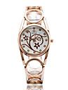 Pentru femei Ceas La Modă Ceas de Mână Ceas Casual Quartz / Aliaj Bandă Casual Cool Elegant Argint Auriu Roz auriu