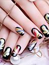 12 Nail Sticker Art Autocollants 3D pour ongles Maquillage cosmetique Nail Art Design