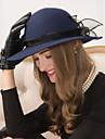 Femei Tul Lână Diadema-Nuntă Ocazie specială Informal Pălărioare Pălării/Căciuli 1 Bucată