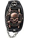 Bărbați Ceas La Modă Ceas de Mână Ceas Brățară Quartz Gravură scobită Punk Aliaj Bandă Charm Vintage Casual Schelet Desen animat Atârnat