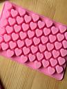 bakeware în formă de inimă de silicon matrite de copt pentru ciocolată cm-87