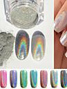 1 Glitter & Poudre Glitterpulver Puder Glitters Chic och modern Blank Vackert skimrande Trendig Nail Art Design