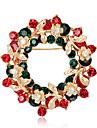 Dame Broșe Stil Floral Flori Floral Circle Shape Flower Shape Geometric Shape Bijuterii Pentru Petrecere Casual