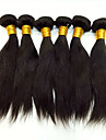 Peruanskt hår Obehandlad hår Rak Hårförlängning av äkta hår 6 delar Luktfri Silkig Heta Försäljning Naturlig Förlängning Human Hår vävar