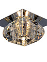 LightMyself™ Montaj Flush Lumină Spot - Cristal, Stil Minimalist, 110-120V / 220-240V Bec Inclus / G4 / 20-30㎡
