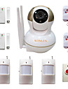 wifi inbrottslarm hemlarm IP-kamera säkerhetssystem för hus anti tjuv videoövervakning med trådlösa Alarme detektorer