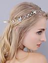 Ștras Banderolele / Veșminte de cap cu Floral 1 buc Nuntă / Ocazie specială Diadema