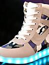 Damă Adidași Confortabili Noutăți Pantofi Usori Toamnă Iarnă Piele de Căprioară Casual Dantelă Toc Plat Negru Gri Plat