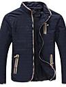 Bărbați Stand Zvelt Mărime Plus Size Palton De Bază - Mată
