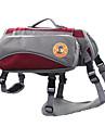 Câine Portbagaje & rucsacuri de călătorie / câine Pack Animale de Companie  Genţi Transport Reflexiv / Pliabil Roșu / AlbastruMaterial