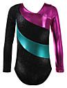 رقص الباليه ملابس ضيقة للرقص أداء بوليستر / سباندكس ربط كم طويل / قمصان الرضعثوب الراقص