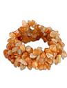 Brățări Brățări cu Lanț & Legături Cristal Zi de Naștere / Zilnic Bijuterii Cadou Oranj,1 buc