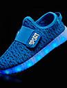 Αγορίστικα Παπούτσια Πλεκτό Φθινόπωρο Ανατομικό / Φωτιζόμενα παπούτσια Αθλητικά Παπούτσια LED για Πράσινο / Μπλε / Ροζ / TR