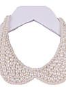 Pentru femei Imitație de Perle Perlă neagră Guler  -  Confecționat Manual Elegant Circle Shape Bijuterii Alb Negru Coliere Pentru Nuntă