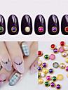 1 Nail Art Decoration Strass Pearls makeup Kosmetisk Nail Art Design