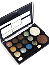 12 Colors Eyeshadow Palette / Powders / Blush Eye / Face Waterproof Shimmer glitter gloss Coloured gloss Daily 1160 Cosmetic