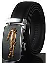 Hombre Elegante, Piel / Legierung Cinturon de Cintura - Lujo / Trabajo / Casual Un Color