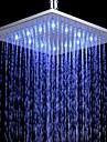 Nutida Regndusch Krom Särdrag-Regn Miljövänlig LED , Duschhuvud