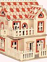 تركيب خشبي بناء مشهور الزراعة الصينية بيت المستوى المهني خشبي 1pcs الطراز الأوروبي للأطفال صبيان هدية
