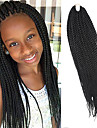 Senegal Tresses Twist Extensions de cheveux 20Inch Kanekalon 35 Strands (Recommended By 3 Packs for a Full Head) Brin 98g grammeBraids