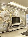 Art Deco #D Imagine de Fundal Pentru acasă Clasic Placare a peretilor , Canava Material adeziv necesar mural , Tapetul camerei
