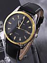 Bărbați Ceas Sport Ceas Elegant Ceas La Modă Mecanism automat Calendar Mare Dial Piele Autentică Bandă Vintage Casual Multicolor