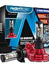 nighteye h4 60W / set 10000lm hi / masina de întâlnire a condus faruri kit de becuri de ceață lămpi 3000K 6500K 8000K alb plug-n-play h4