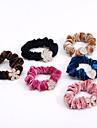 Elasticos & Ties Acessorios de cabelo Tecido Nao-Tecelado / Strass perucas Acessorios Mulheres 5pcs pcs cm Diario Classico