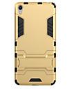 Pentru Cu Stand Maska Carcasă Spate Maska Armură Greu PC pentru Sony Sony Xperia X Sony Xperia XA Sony Xperia E5
