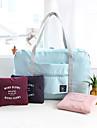 Resväska Mini-axelväska Handväska Bagageorganisatör Vattentät Bärbar Vikbar Stor kapacitet Multifunktion Packpåsar för Kläder Polyester /