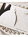 Împăturit în 3 Invitatii de nunta Invitații Stil Clasic Hârtie cărți de masă